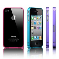 iPhone 4/4s Ultra Slim Metal Bumper