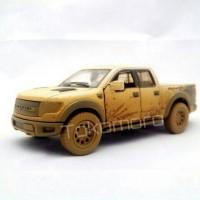 Diecast miniatur mobil ford raptor lumpur pick up bak terbukatokomoro