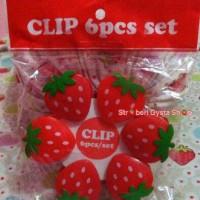 Clip / jepitan jemuran strawberry