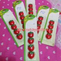 Magnet / tempelan kulkas buah strawberry