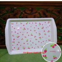 Nampan strawberry / tray strawberry shabby chic