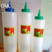 Botol Plastik Lancip Besar Ukuran Besar Unt Mayonaise dan Saus Sambal