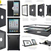 Otterbox Defender Original Armor Cover Case Sarung Casing iPad 2 /3 /4