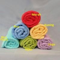 Handuk merah putih 50x100 cm / Handuk Mandi / Handuk Bayi / Towel