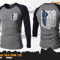 Jual SNK T-Shirt (Kaos Attack On Titan - KA SNK 13) Murah