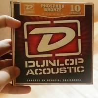 senar gitar akustik dunlop phosphor bronze DAB1048