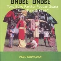 """Buku Partitur Paduan Suara """" Ondel-Ondel"""" 50 Lagu Daerah SATB"""