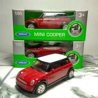 harga Diecast Welly Nex 1:60 Mini Cooper S Merah Tokopedia.com