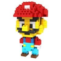 LDL 104 Lego Action Figure Nano Blocks World Series Mario Bros.