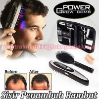 sisir laser terbukti penghilang rambut rontok botak power grow comb