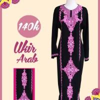 Gamis Ukir arab - shofwa griya