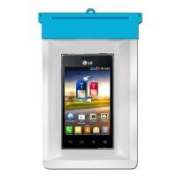 Zoe Waterproof Bag Case For LG Optimus L5 Dual E615