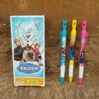 Pensil Mekanik 2.0mm Karakter Frozen / Alat Tulis / Stationery