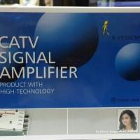 Spliter CATV Antena + Booster 1 Antena 4 TVSignal Amplifier