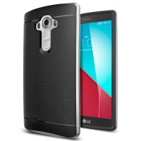 Sgp Neo Hybrid Ex Silver For Lg G4