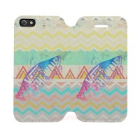 Vans Aztez Pattern Iphone 5-5S Custom Flip Cover Case