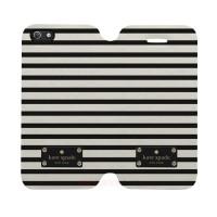 Kate Spade Striped Iphone 5-5S Custom Flip Cover Case