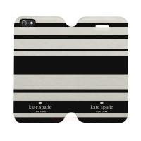 Kate Spade Striped 2 Iphone 5-5S Custom Flip Cover Case