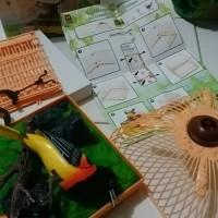 Mainan Burung Berkicau Sangkar Kotak Sensor Suara free Battery
