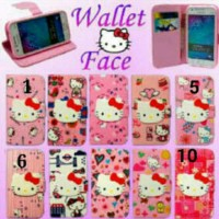 WALLET CASE HK FACE FOR SAMSUNG YOUNG 2 ~ GALAXY V ~ GRAND PRIME