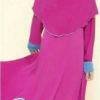 Baju Gamis Pink Frozen L-Nice Kids