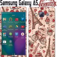 harga Garskin Samsung Galaxy A5 Paris Cute Tokopedia.com