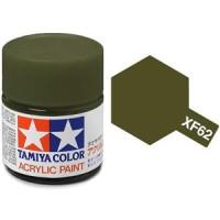 Tamiya XF-62 Olive Drab Acrylic Paint