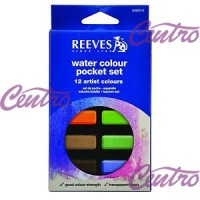 REEVES WATER COLOUR POCKET SET 12