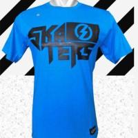 tshirt/t-shirt/kaos distro skaters (blue)