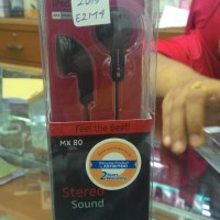 Headset / Headphones SENNHEISER MX80, Garansi 2 Tahun