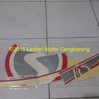 Stiker/Stripping/Lis body Scoopy FI putih