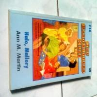 Novel Remaja The Baby Sitters Club Hallo Mallory