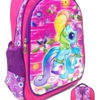 Tas Ransel Sekolah SD My Little Pony 5D Pony Can Dance Gambar Rubah2