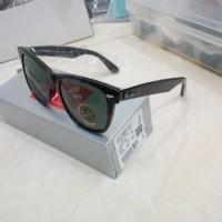 harga Kacamata Original Sunglass RayBan Wayfarer Black G15 Tokopedia.com