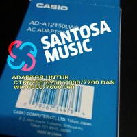 harga Adaptor Casio Ctk7200/6250/6200/wk7600/6600 Original Tokopedia.com