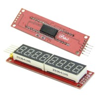 Red MAX7219 8-Digit LED Display Module Digital Tube Arduino SPI