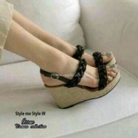 wedges cwe cantik