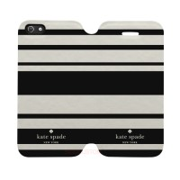 Kate Spade Striped 2 Iphone 5C Custom Flip Cover Case