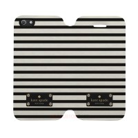 Kate Spade Striped Iphone 5C Custom Flip Cover Case
