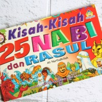 Buku anak muslim kisah 25 nabi & rasul