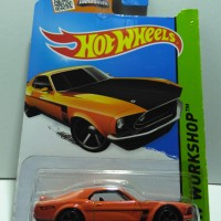Hot Wheels 69 FORD MUSTANG BOSS 302
