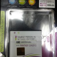 Baterai Log on Mito Fantasy 2 A310 3000Mah Double Power