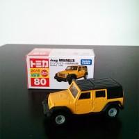 Tomica Reguler 80 Jeep Wrangler 2015 Yellow