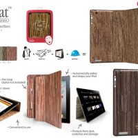 harga Ozaki iCoat Notebook Grain Smart Flip Book Cover Case iPad 2 3 4 ORI Tokopedia.com