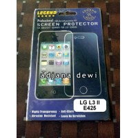 Anti Gores Glare Screen Guard Protector LG Optimus L3 ii Single E425