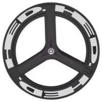 Wheelset Clincher HED H3D Rear Bolt-On 650c Black