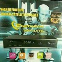 Receiver Parabola Getmecom HD009 New FTA (USB Modem, USB Wifi Power Vu)