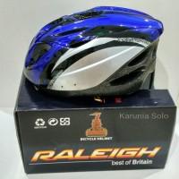 harga Helm Sepeda Raleigh Blue Tokopedia.com