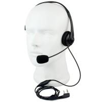 Harga headset ptt ht radio kenwood baofeng firstcomm single | antitipu.com