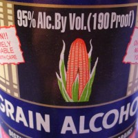 PGA ( Pure Grain Alcohol ) / alcohol food grade